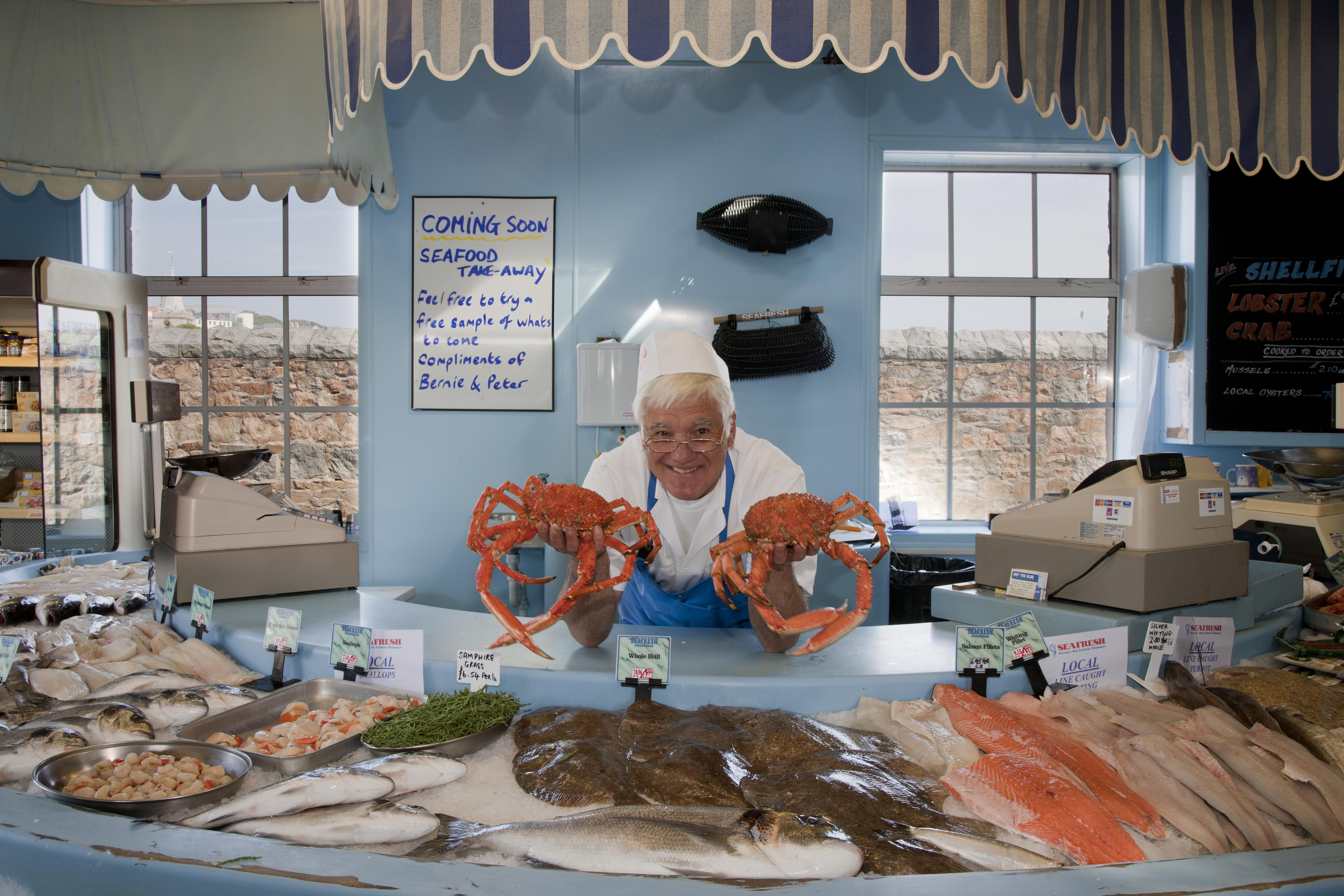 Guernsey - fishmonger