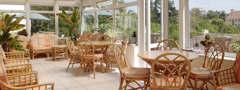 Miramar Hotel - conservatory