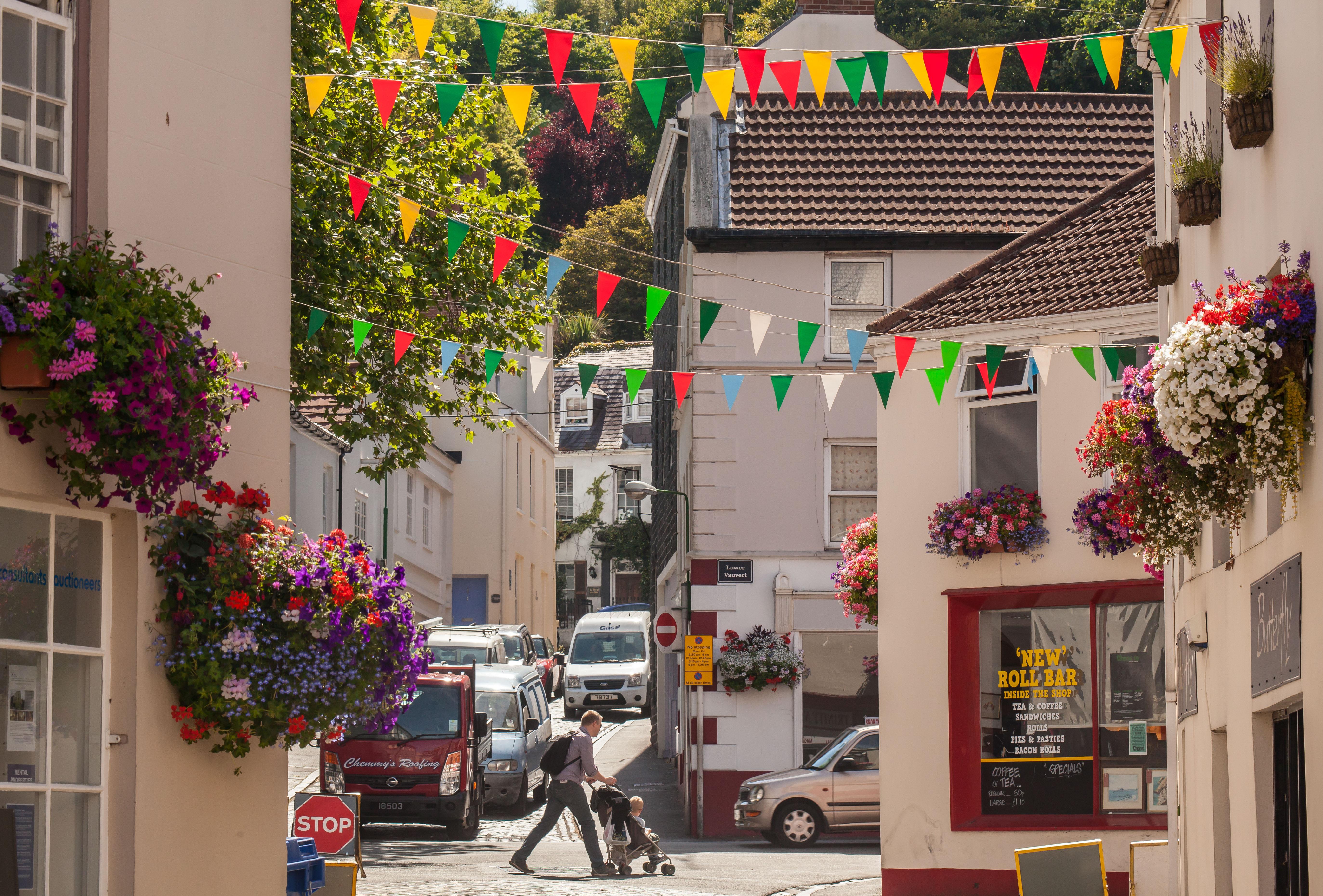 Guernsey - Floral St Peter Port